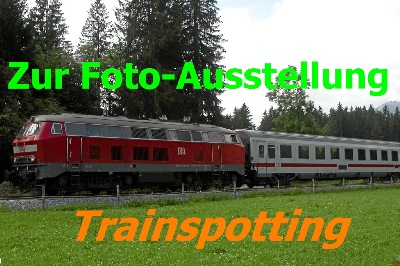 Eingang zum Album TRAINSPOTTING